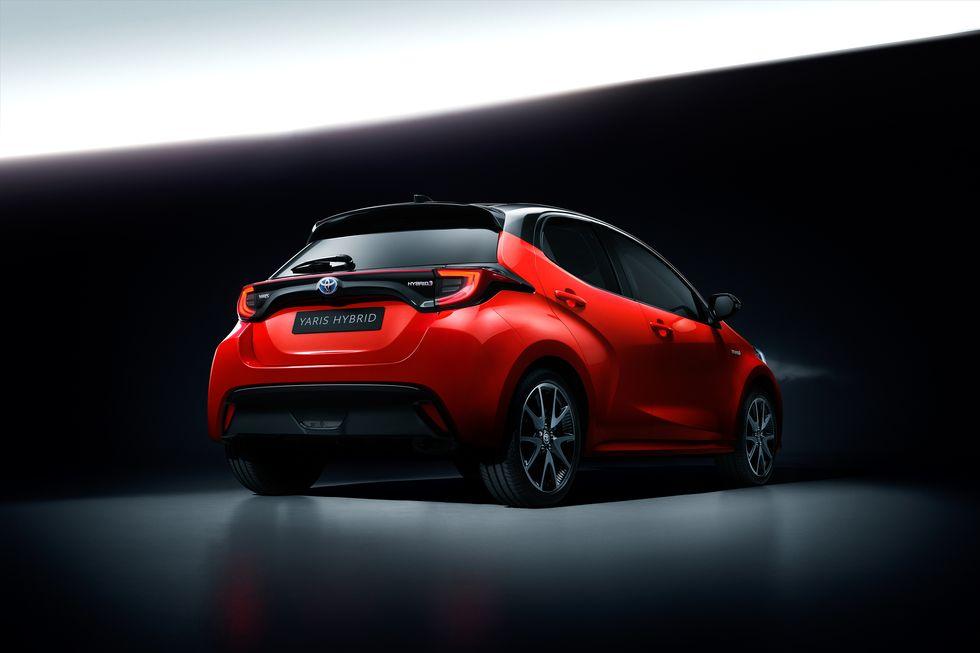 2020款丰田雅力士,TNGA首款微型车,可惜不能国产