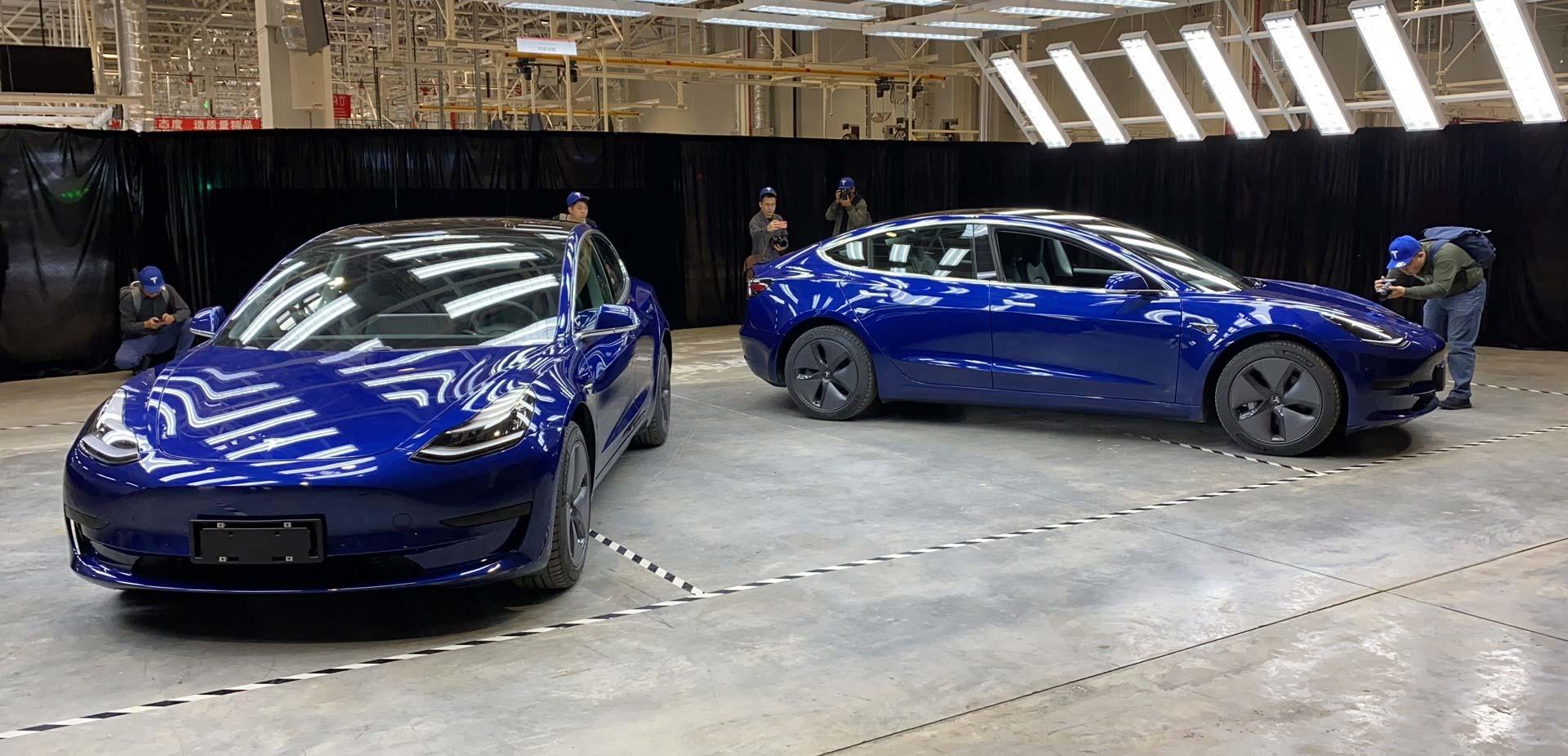 售价 35.58 万元 国产特斯拉 Model 3 首次曝光