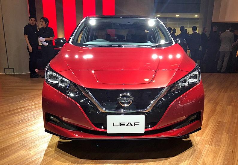 最畅销电动车品牌又推新车了?新款聆风电动版亮相,全面升级