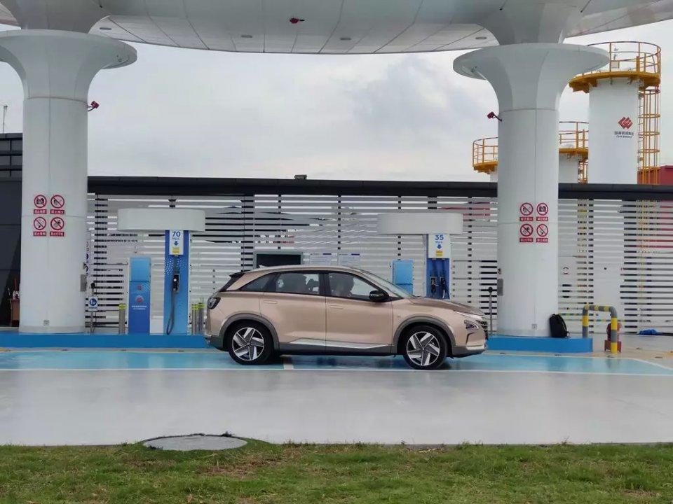 进博会上的汽车新能源:现代的氢燃料