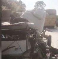 两车相撞,1人身亡!广西发生一起交通事故,视频录下惊险瞬间