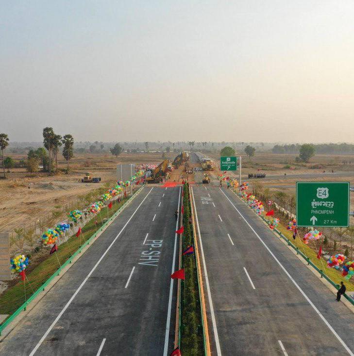 交通 | 金西高速新消息:提前竣工,2022年柬埔寨东盟峰会前通车