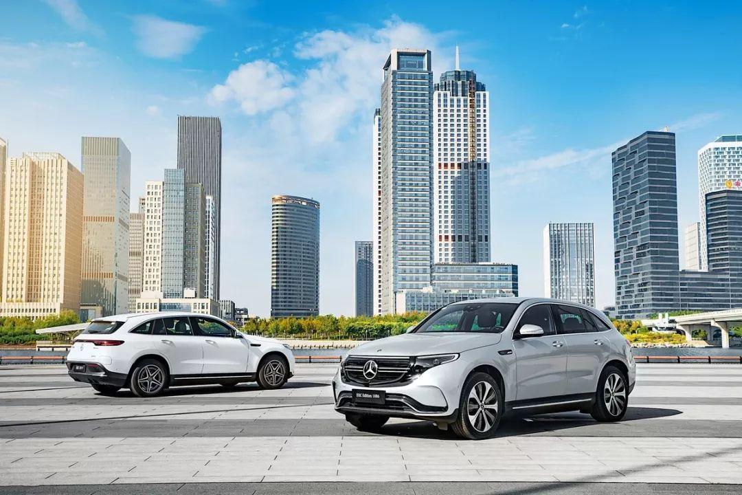 奔驰EQC 57.98万起售,100%电动,100%奔驰