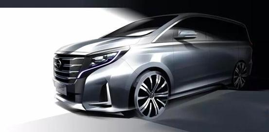 广汽传祺GM8 2020款领航版官方预告图发布