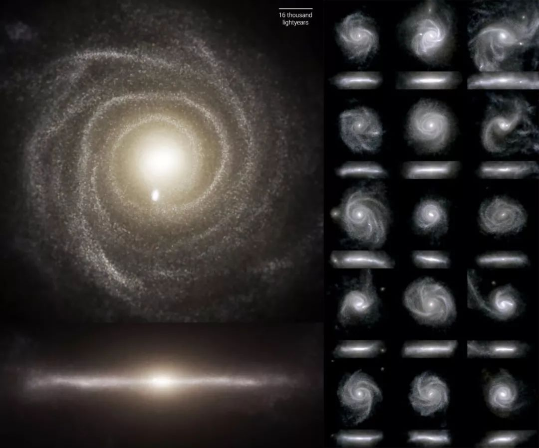 皇家天文学会公布:迄今为止最详细的大规模宇宙演化模拟!