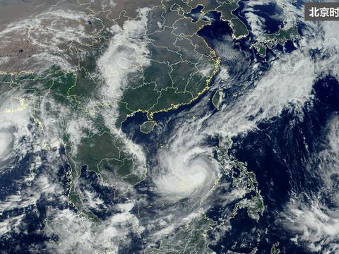 """活久见!台风麦德姆""""复活"""",超级计算机:印度和孟加拉很危险"""