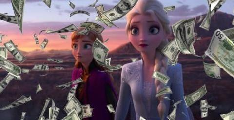 《冰雪奇缘2》创下预售新纪录,48小时超过《玩具总动员4》第一周