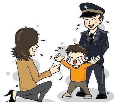 """请别拿""""警察""""吓唬孩子"""