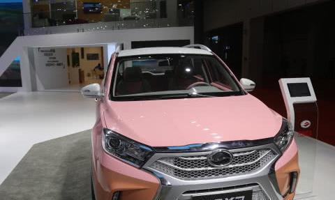 陆风汽车-陆风X2新青年SUV,主打年轻风格,上海车展实拍!