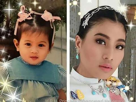 泰国公主在单亲家庭长大,比同龄孩子更懂事