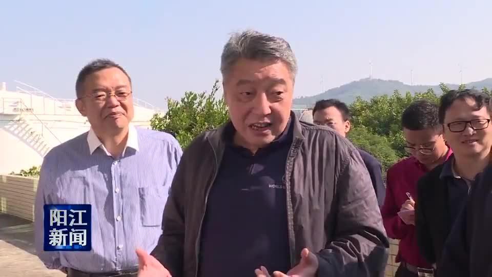 许瑞生到阳江调研海岛旅游资源保护与开发