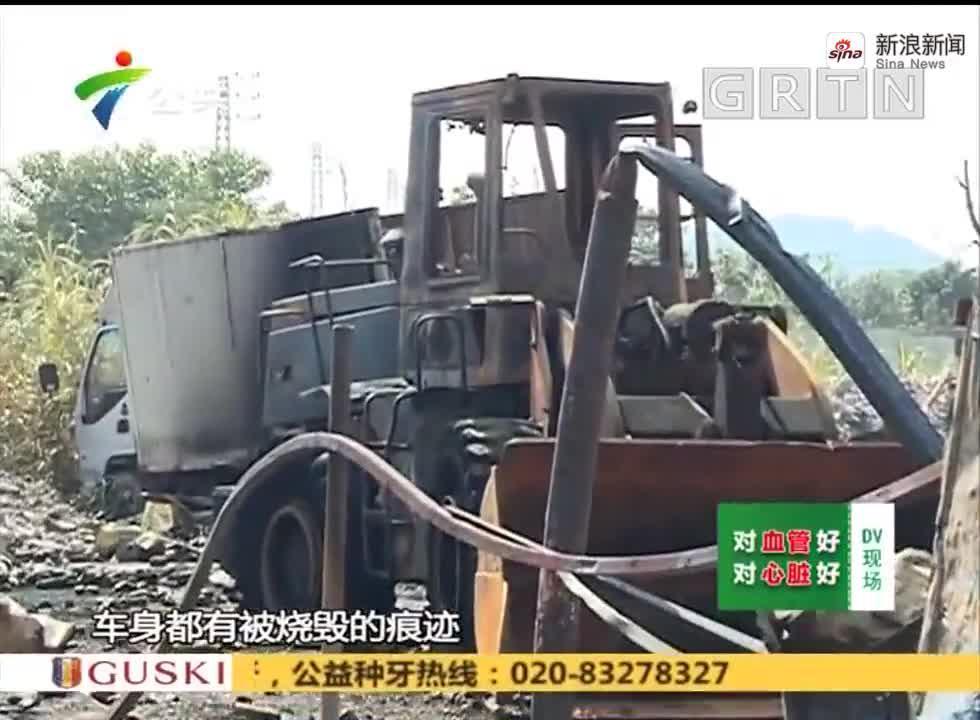 (DV现场)佛山:工业区突发大火 大量瓶罐发生爆破