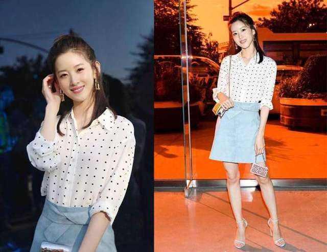25岁的章泽天撞脸陈都灵,嫁给京东老板,一身阔太风,清纯又美艳