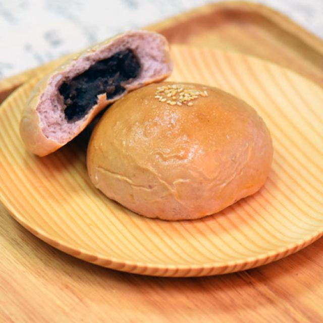 自制紫薯面包,味道棒棒哒,香甜可口有营养