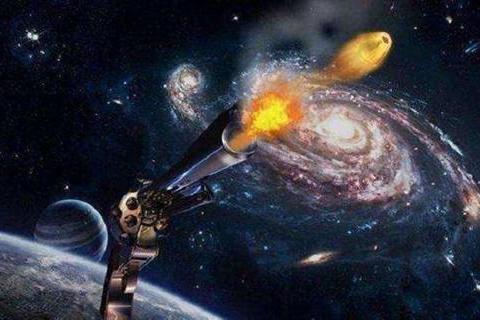 太空中射出一颗子弹,它最终的目的地会在哪里?科学家给出答案