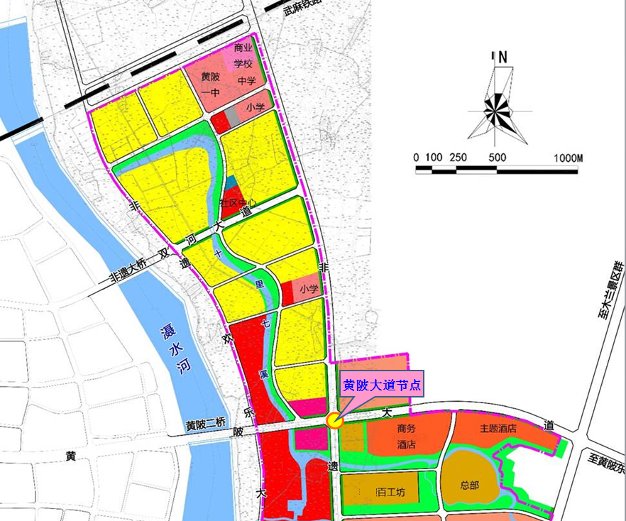 前川中环线将破解黄陂堵局,设互通立交3处,增设高架快速路2处