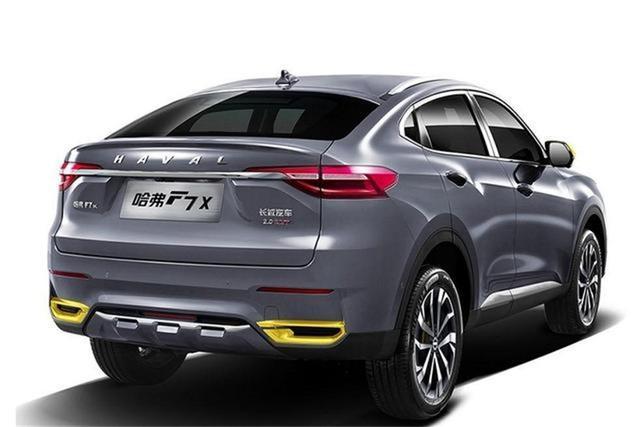 哈弗F7x性能版上市:售15.49万元,家用车性价比之选