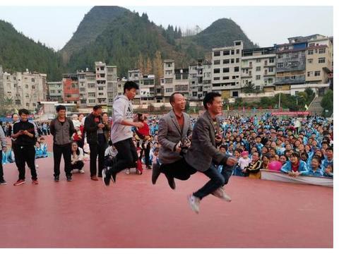 运动挥洒激情 青春绽放活力——沿河县甘溪中学教师趣味运动会