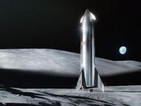 已经确认了!SpaceX公司正式宣布将于2022年着陆月球!