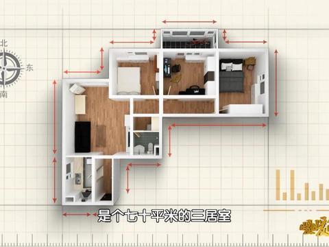 打造复合式超级未来之家  《暖暖的新家》让70平牢笼之家焕发新生