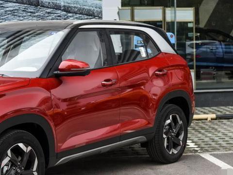 现代又打起了价格战,配国六1.5L,双色车身,新款比XR-V便宜3万
