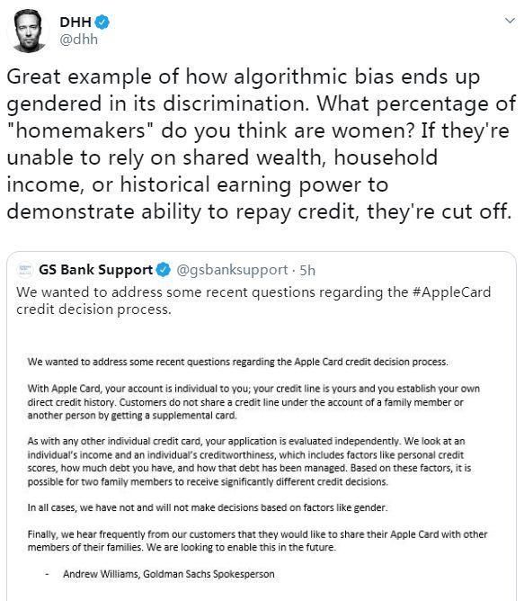 美媒:涉嫌性别歧视 苹果信用卡遭监管机构调查