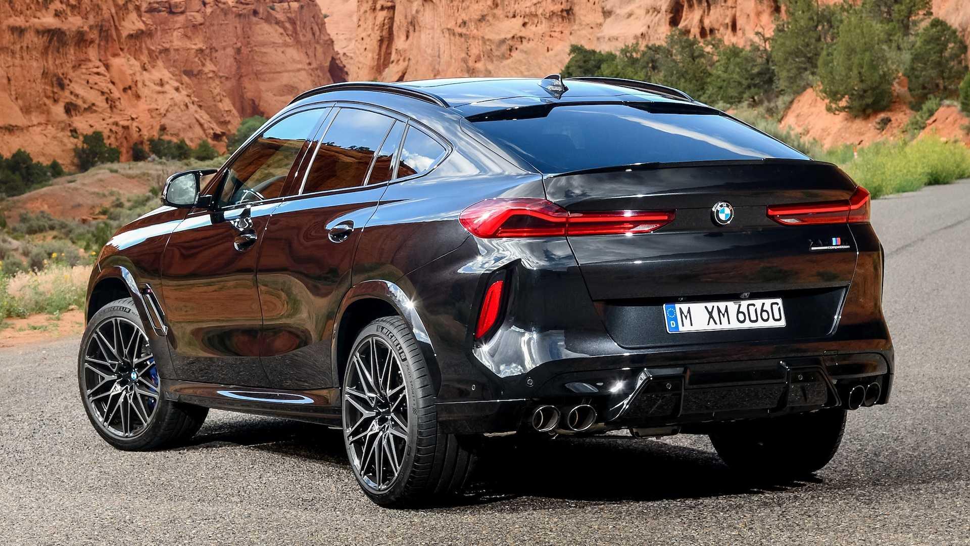 外观设计更具冲击力 全新宝马X6 M将于洛杉矶车展首发