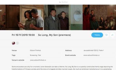 《地久天长》即将在捷克共和国首映 带着好作品走出国外的王源