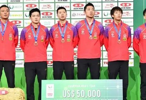 乒乓球世界杯颁奖礼,冠军奖大米,只升冠军队国旗。你怎么看?