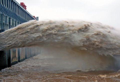 三峡大坝开闸泄洪时,水为何要喷向天空? 只怪设计师太聪明了
