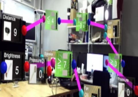 庆应大学研发出可对物联网设备进行可视化编程的系统