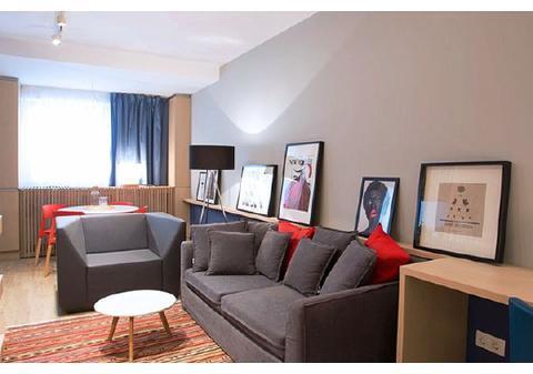 47平暖色长型小宅,简约温馨,小户型也可以有大智慧!