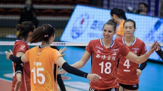 女排联赛外援实力大比拼,科舍列娃胡克尔各有软肋,上海外援最佳
