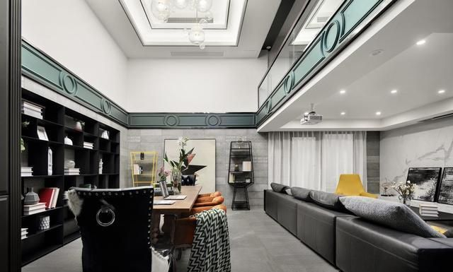 夫妻俩的315㎡美式别墅,复古时髦,典雅温情,处处是亮点