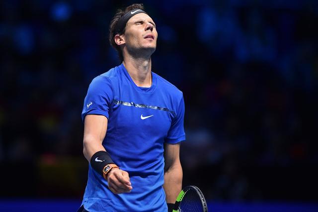 ATP总决赛:纳达尔首战失利心情不爽,爆粗回应记者迷醉提问