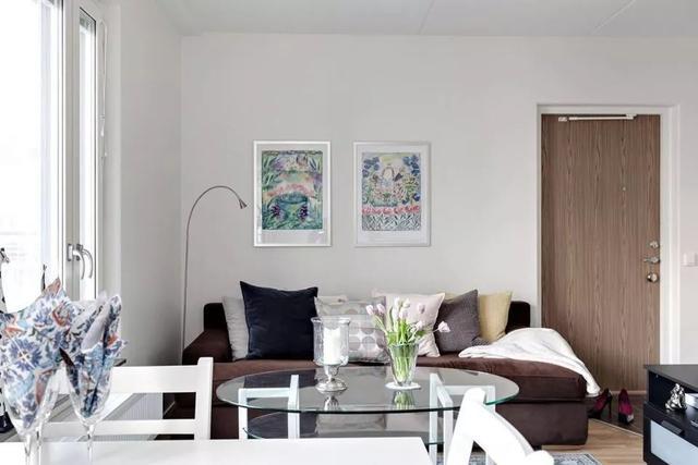 表姐家的47平小户型,家里的双休闲区装修很喜欢,太漂亮了