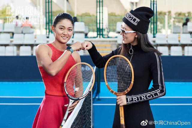 美女如云!中国网球四朵金花拍摄写真大片:王蔷明艳动人气质出众