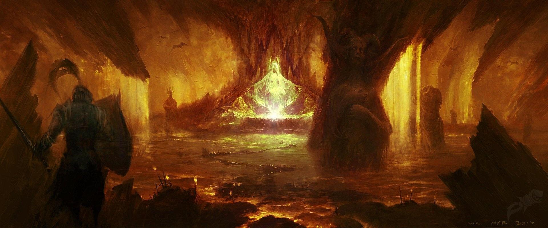 《暗黑破坏神4》概念艺术图及截图 场景壮观画风黑暗