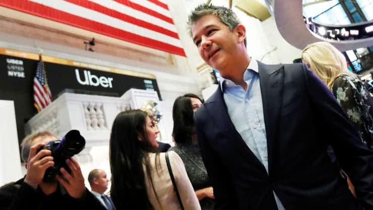 禁售期结束 Uber创始人卡兰尼克出售价值5亿美元股票