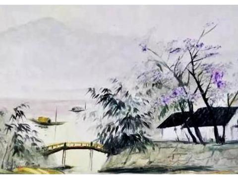 想让人身临其境的山水画刀画,这里有你期待的场景吗?