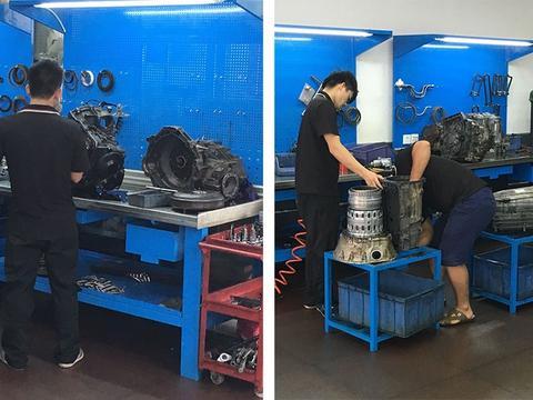 奔驰M级变速箱,锁档故障维修,奔驰自动变速箱维修案例