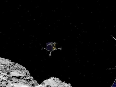 5年前的今天,罗塞塔号飞船在彗星67P上着陆失败,随后神秘失踪