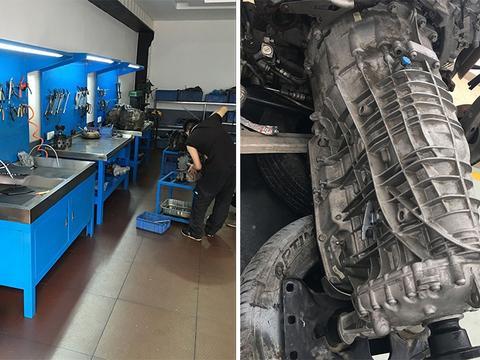 保时捷帕拉梅拉变速箱,顿挫故障维修,自动变速箱维修案例