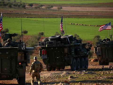 美军声明卖石油钱交给了库尔德人