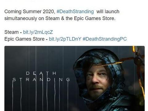 发行商确认《死亡搁浅》PC版会同时登陆Steam和Epic游戏商店