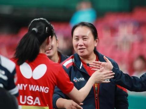 许昕的2021被1美国姑娘预定 张安点名要和他打休士顿世乒赛混双