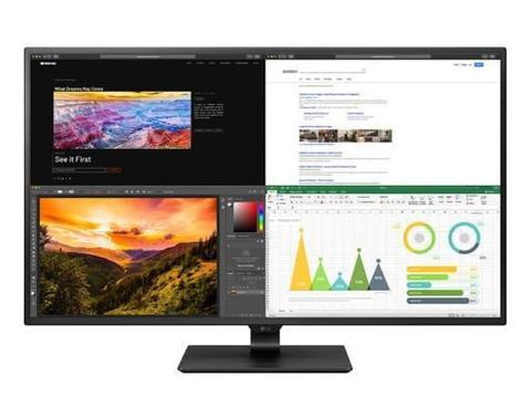 LG推43UN700显示器:4K IPS、HDR10,还有60W USB-C供电
