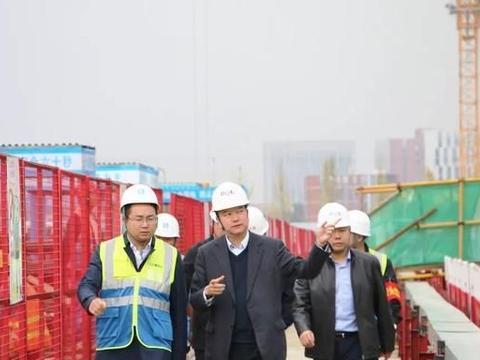 京东方集团副总经理石涛到中建三局成都京东方医院项目检查指导