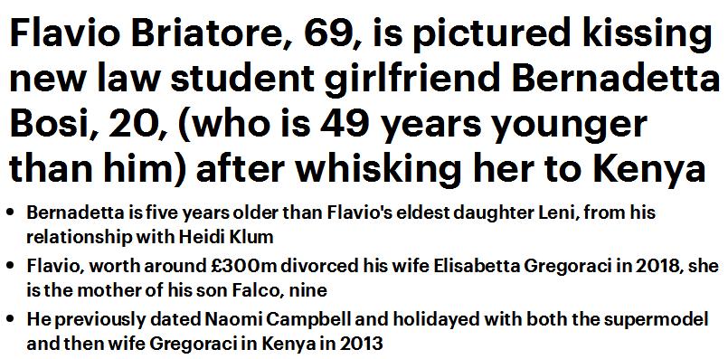 舒马赫69岁恩师陷入热恋!和20岁女学生忘情激吻,个人身价达27亿