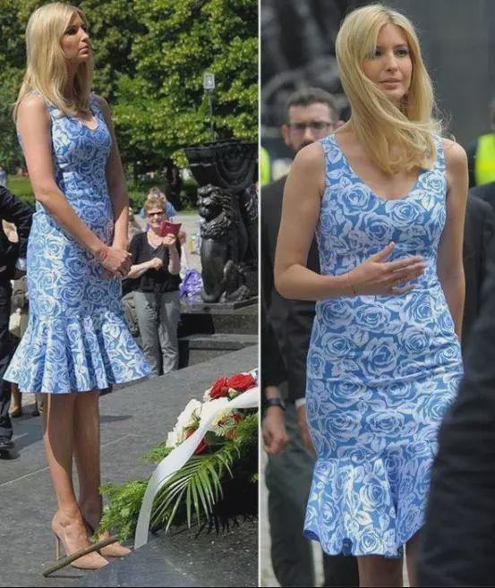 美国第一女儿伊万卡:身材虽好,展露要适当,裹身裙还是别穿了